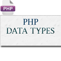 Data Types in PHP